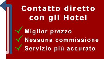 Contatto diretto con gli hotel